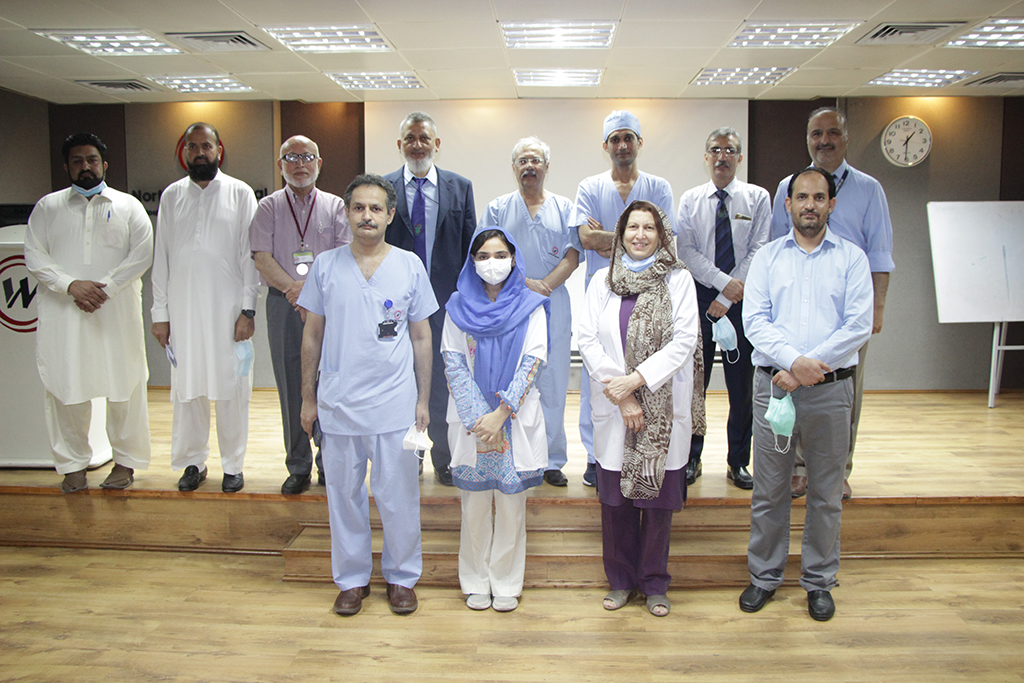 CPSP Inspection team visit to Northwest General Hospital and Research Center