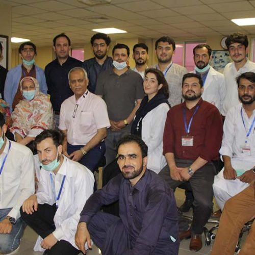 Workshop on analysis of body fluids